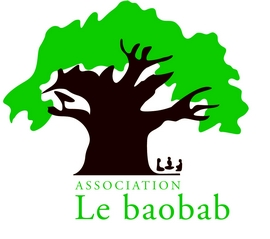 Logo Baobab brun vert foncŽ